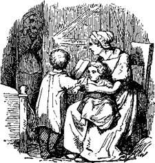 Маленький Тук мама и дети
