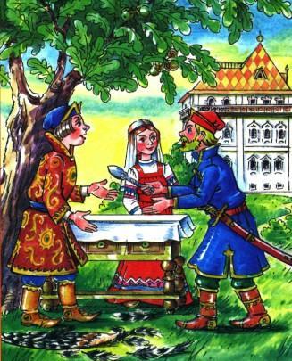 иван царевич в гостях у шурина и марьи царевны