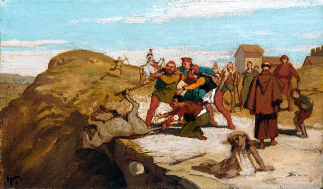 Мельник, его сын и осел