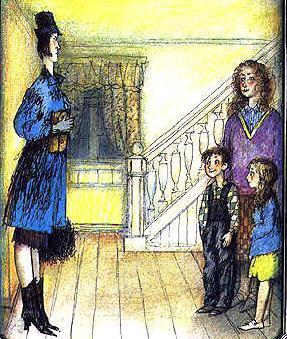 Мэри Поппинс - новая няня пришла в дом