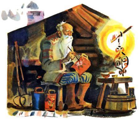 Мудрый старик трудится