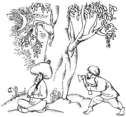 Мулла с отрубленным носом крадется с топором