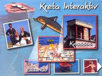 Географическая карта, музеи и достопримечательности острова Крита — и все это на одном компакт-диске.