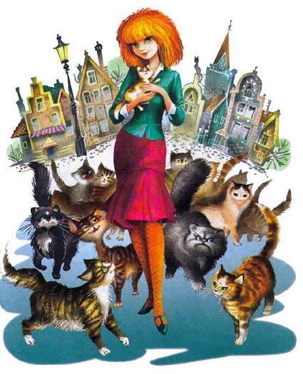 Мурли и много кошек
