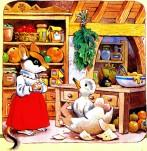 дома у мышки из яйца вылупился толстый утенок
