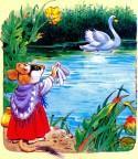 мышка прощается с лебедем озеро