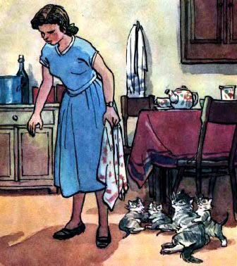 мама котьки