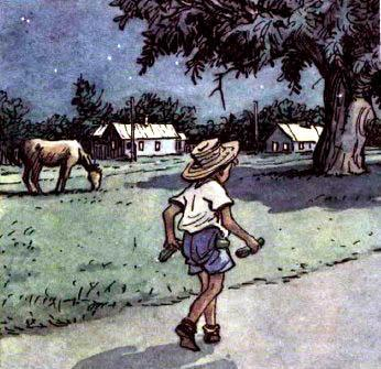 котька несет Огурцы назад на поле