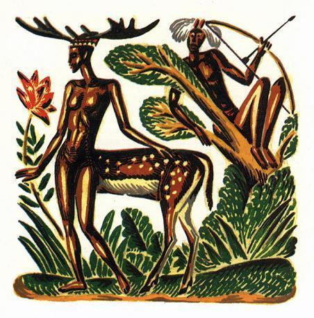 Охотник и лань