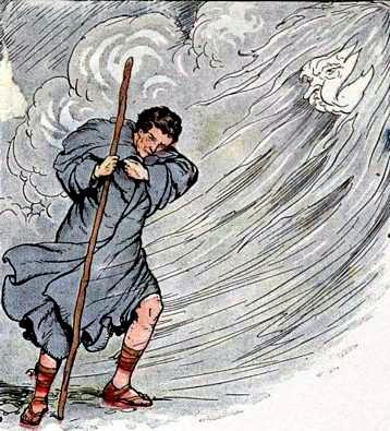 Отчего бывает ветер ?