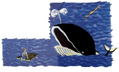 моряк на плоту