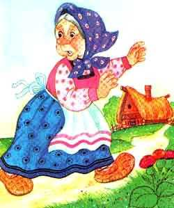 бабка испугалась