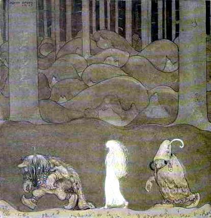Как-то ночью отвели они Бьянку Марию в лесную чащу