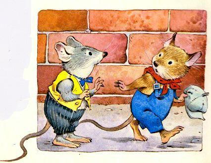 мышки попрощались