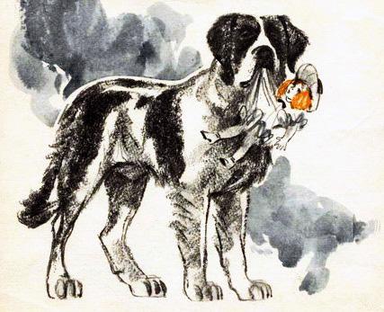 Пожарные собаки