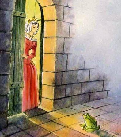 Принц-лягушка принцесса и лягушка