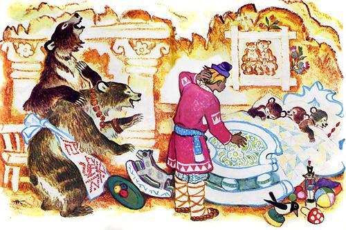 Иванушка-дурачок и медведи