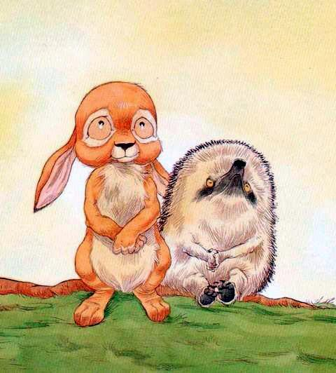 Ёжик и Кролик мечтают
