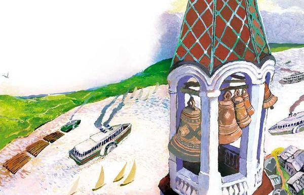 колокола на колокольнице