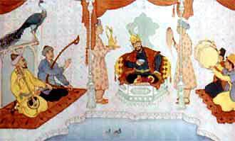 Падишах приказал пустить рыбку Гульдор в хауз