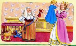 королева с первенцем сыном