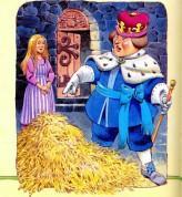 Король и девушка солома