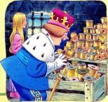 король и золотая пряжа