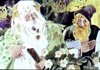 Лесной Дед и старик