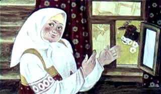 старуха у окна