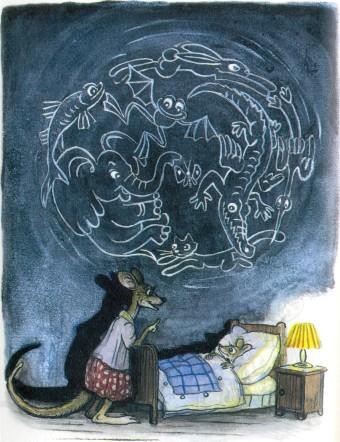 кенгуру и уенгуренок детенышь ночь страшные сны