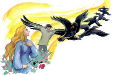 принцесса и вороны братья
