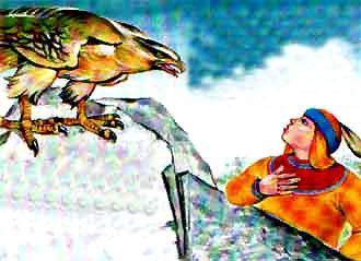 Индига встретил по дороге орла
