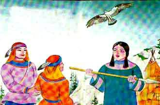 Соломдига с девушкой мужем и женой стали. А Индига научился вперед смотреть