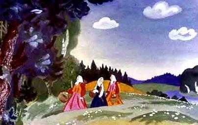 Пошли сестры в лес