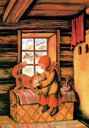 Дарёна и кошка Мурёнка