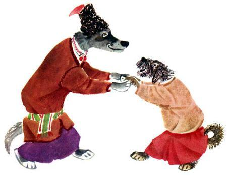 волк и пес