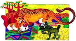 Шакал и леопард
