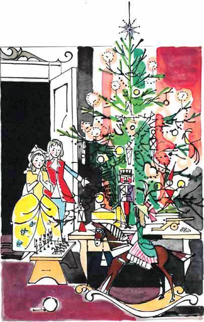 Щелкунчик новый год елка