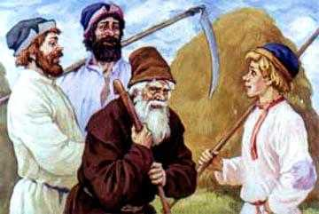 Жил-Был старик, у него было три сына