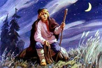 Иван-дурак в поле ждет