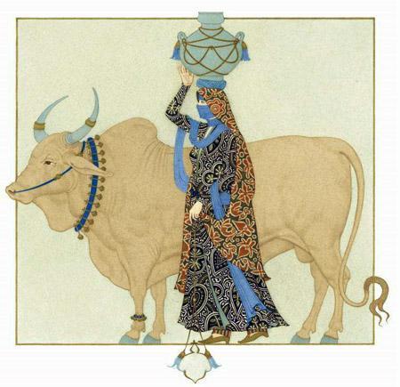 Сказка о быке с ослом