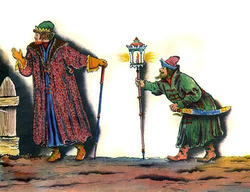 И в светлицу входит царь, Стороны той государь.