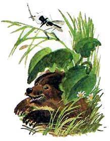 Сказка про Комара-Комаровича и про мохнатого Мишку