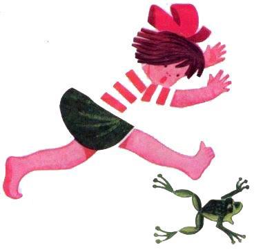 девочка и лягушка