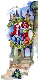 молодой принц и принцесса