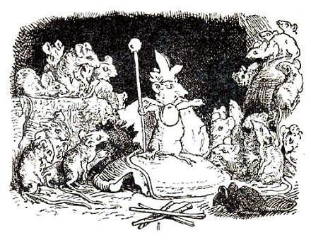мыши и их королева