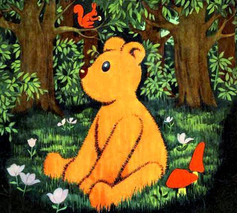 медвежонок Тедди Брюмм