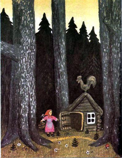 девочка ушла из дома в лес
