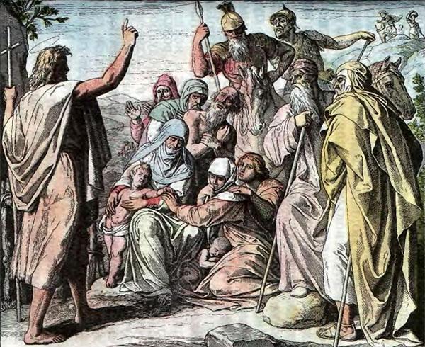 Пророк Иоанн велит евреям готовиться ко встрече Спасителя