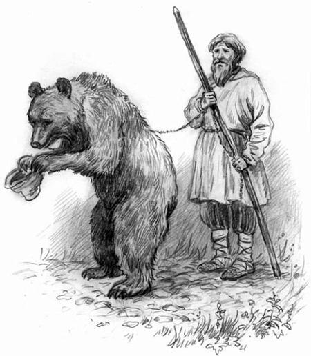 Ученый медведь